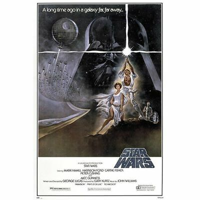 STAR WARS - CLASSIC MOVIE POSTERS - New Hope - Version B  NEW - 24x36 INCHES