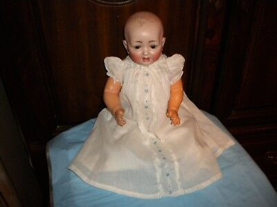 Precious!  Antique German Hertel,schwab & Co. Baby Doll.