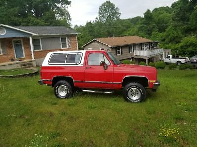1989 GMC Jimmy Sle 1989 gmc jimmy sle 4x4 fuel injected automatic transmission