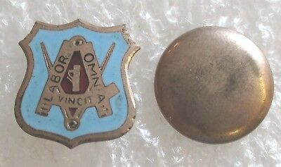 Antique United Brotherhood of Carpenters & Joiners Union Member Lapel Pin