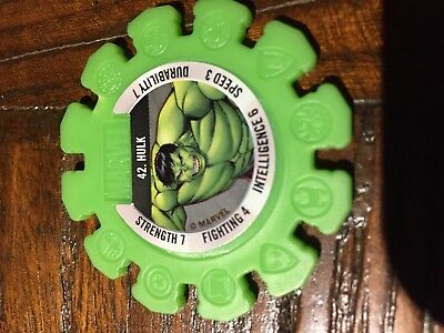 Woolworths Marvel Superhero Disc 42 Hulk RARE brand new