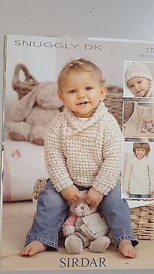 Sirdar Knitting Pattern #1785 to Knit Baby or Child's Jumper 0-7 Years DK Yarn