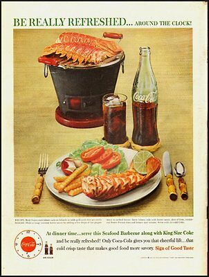 1960's Vintage ad for Coca-Cola-Be really refreshed  (082012)