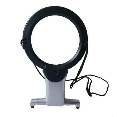 2.5X 6X Magnification Reading Magnifier Loupe Magnifying Glass with Led