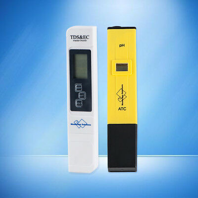 Premium Digital PH Meter / TDS Tester Aquarium Pool SPA Water Quality Monitor US