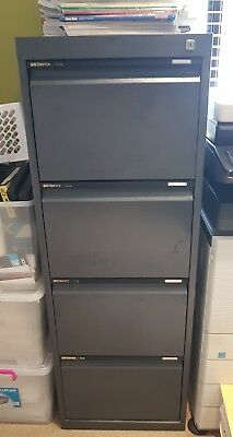 Filing Cabinet, Statewide metal 4 drawer with anti-tilt draws