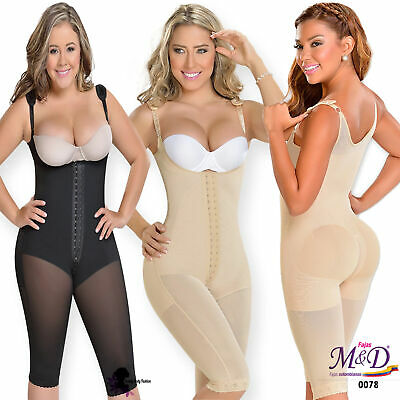 772711676 Colombian Postpartum Surgical Fajas Salome Thong Body Shaper Girdle Zipper  Slim