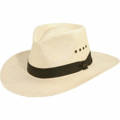 06396aac Scala Men's P220 Outback Straw Hat 1 of 1FREE Shipping ...