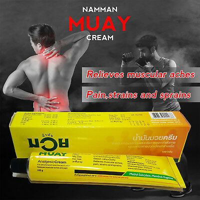 Other Combat Sport Supplies Loyal 10x100g.namman Muay Cream Thai Boxing Analgesic Relief Muscular Aches Pain Balm