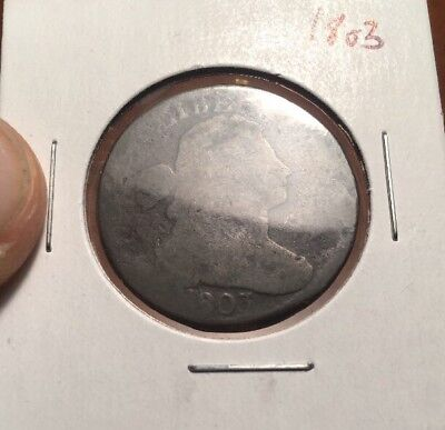 1803 Draped Bust Large One Cent Coin