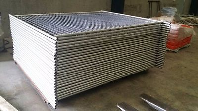 Temporary Fencing Panel 2400*2100mm Ezy Panel 3mm Mesh
