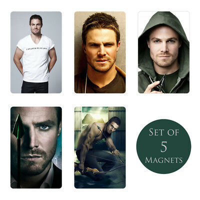 Stephen Amell Coaster Set NEW Arrow Oliver Queen