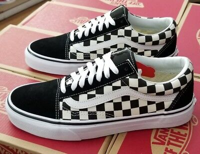 11115331d6c805 VANS OLD SKOOL Checkerboard Primary Check Vn0A38G1P0S Black white Men Us Sz  5 -  59.99