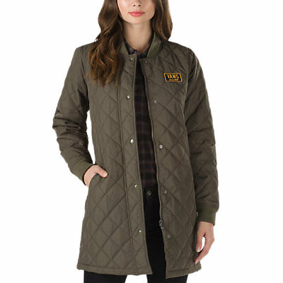 8b5e070532f01 VANS WOMEN'S BOOM boom quilted jacket olive!