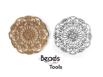 Jewellery Connector - Findings Connector - Filigree Connector Jewellery Finding