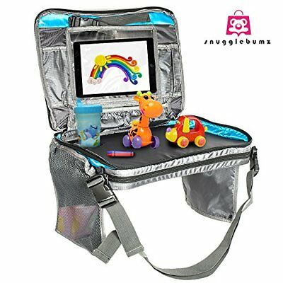 Kids Car Seat Travel Lap Tray For Snack And Play Easy To Clean With Cup