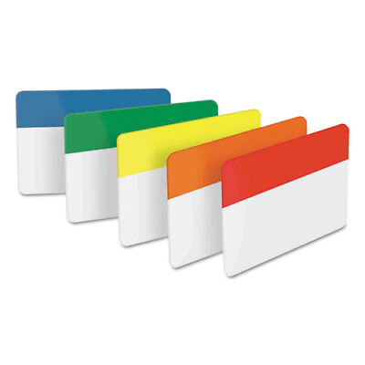 Post-it Tabs File Tabs, 2x1 1/2, Assorted Primary, 30pk