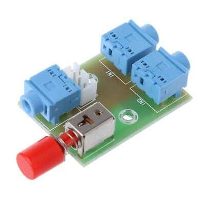 3.5 Audio 2 In 1 Out Switch Switching Audio Board Socket Signal Switching Module