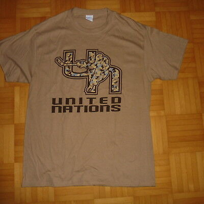 Hockey T-Shirt Gr. L - UNITED NATIONS -
