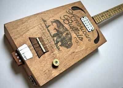 "Cigarbox Gitarre | ""the Bufallo Blues-Box""