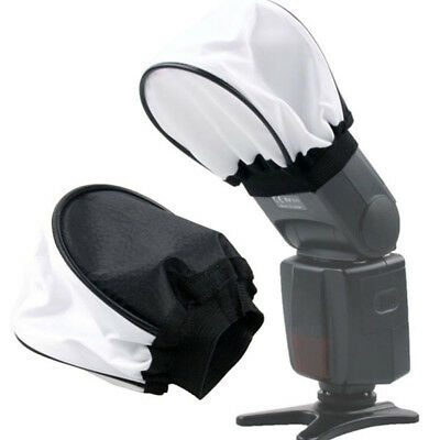 BL_ Universal Camera Accessory Flash Diffuser Soft Cover for Canon Metz Nikon So