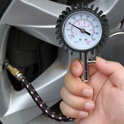 BL_ Accurate Auto Car Tire Pressure Gauge Automobile Air Dial Meter Vehicle Test