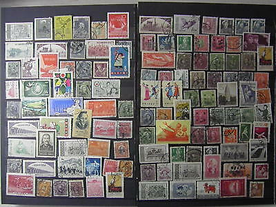 CHINA Sun Yat Sen Peace Dove Army Toys Folk etc...115 Old Stamps SEE PHOTO