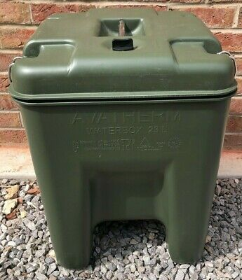 Avatherm Water Box 23L Army Insulated Hot Cold Food Drink Container with Tap NEW