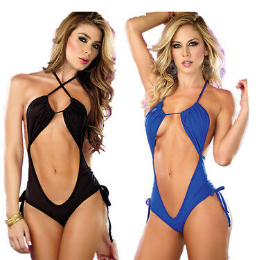 NEW HOT Sexy Lingerie Underwear Lady Sleepwear Bodysuit Coverall dress