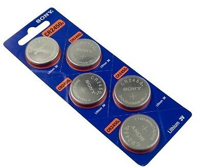 Sony CR2450, Lithium SET OF 3 BATTERY