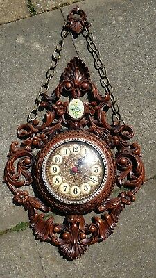 CLOCK Fabricue i Italie (Polistyren Anti-cassure) BROWN (USED)