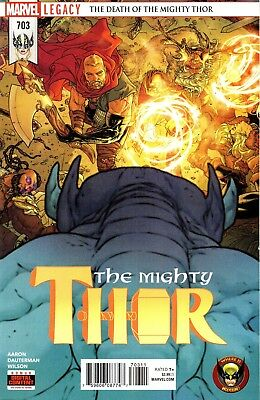 The Mighty Thor Comic 703 Marvel Legacy 2018 Fall of Asgard