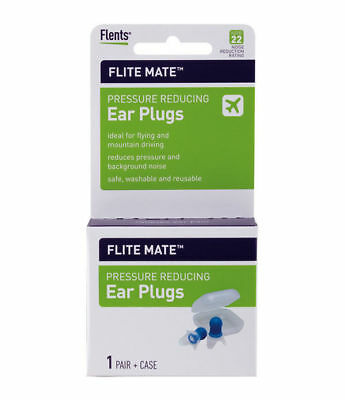 Flents Flite Mate Pressure Reducing Ear Plugs for Travel