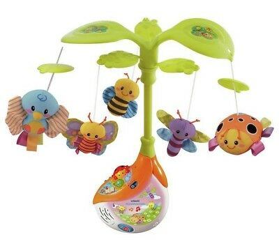 VTech Sing and Soothe Musical Baby Cot Mobile A-