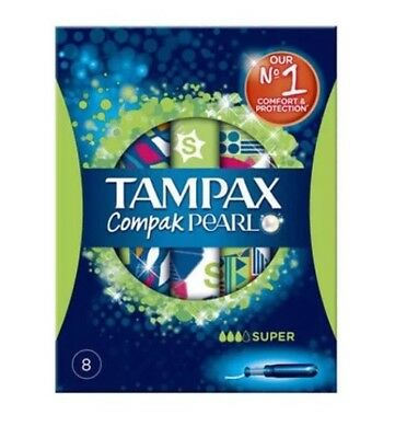 2 Box Of Tampax Compak Pearl Super Tampons - 8