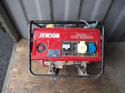 Generator 2000 Watt  collection only, Monday to Friday 8am to 4pm