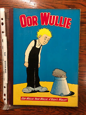 Oor Wullie 1970 Annual - loose cover