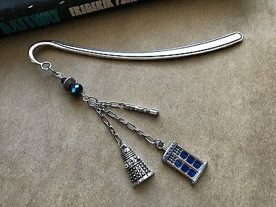 NEW Doctor Who (Tardis Dalek Sonic Screwdriver) Bookmark from Between the Pages