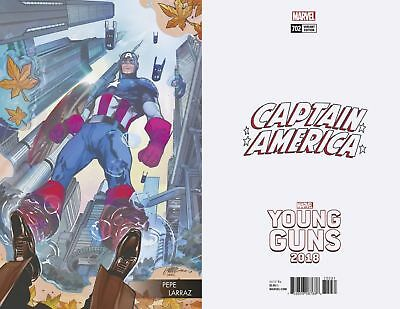 Captain America #702 (Larraz Young Guns Variant) Marvel Comics 1st Print Cover