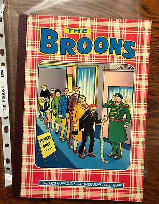 The Broons 1981 Annual - nice copy