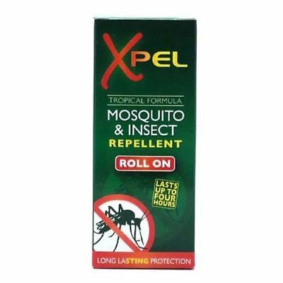 Xpel Mosquito et Insectifuge Roll On 75ml 1 2 3 6 12 Paquets