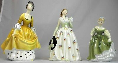Royal Dolton Figurines (3)