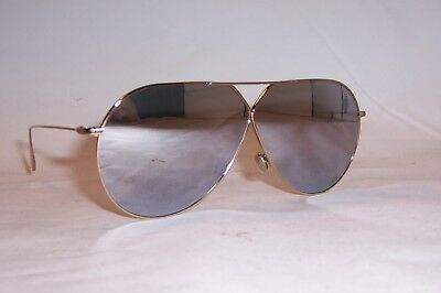 0fcad7a72071 NEW CHRISTIAN DIOR Diorstellaire 3 S J5G-DC GOLD SILVER MIRROR SUNGLASSES