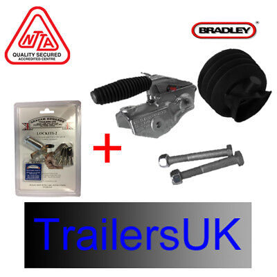 Bradley Doublelock KIT 2030 50mm Head & Lock for HU12 Couplings - 3500kg