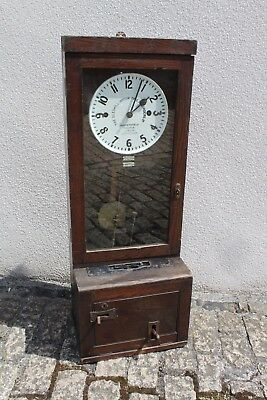 1943 Gledhill-Brook Upright Time Recorder Clock Clocking In Spares/Repairs
