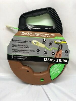 Southwire Tools & Equipment FTSP45-125NCT Simpull Electrical Fish Tape NEW