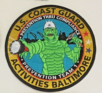 USCG United States Coast Guard Activities Baltimore patch 4-5/8 dia #2929