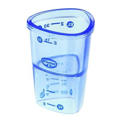 Dr. Oetker 4-Mini Measuring cup 4 cl Non-slip Kitchen, Household Living