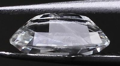 NATURAL WHITE SAPPHIRE 1.65ct  VALUE STONE - SRI-LANKA.