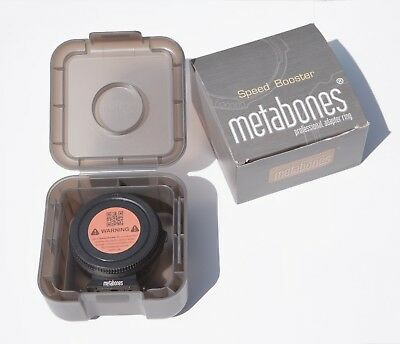 Metabones Speedbooster Canon EF to M 4/3 XL 0.64